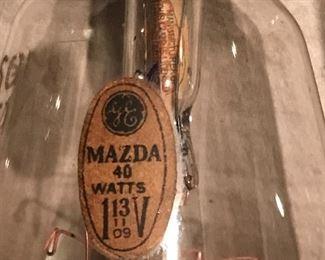 Very rare original Edison bulbs