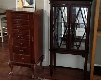 Jewelry Hutch and Display Case