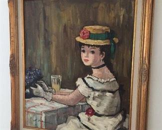 Original Maurice Valmain painting