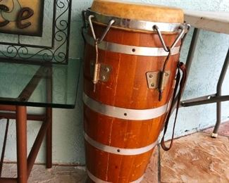 Vintage tom tom floor drum