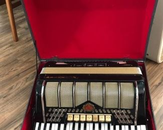 Vintage accordion.