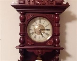 Ornate wall clock