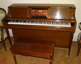 Wurlitzer Player Piano