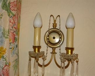 Eight Matching Wall Sconces