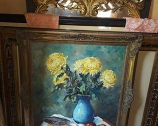 Chrysanthamums  by Theo Elsinger
