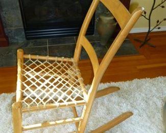 1800's Rawhide Chair