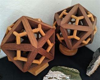 Hand Made Icosahedrons