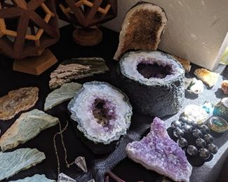 Amethyst, Citrine and Many Gems and Stones