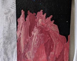 Original Acrylic Pour Painting