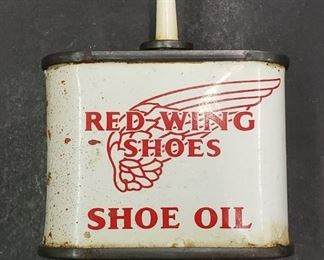Red Wing Shoe Oil Tin