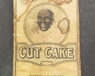 Old Sambo Cut Cake