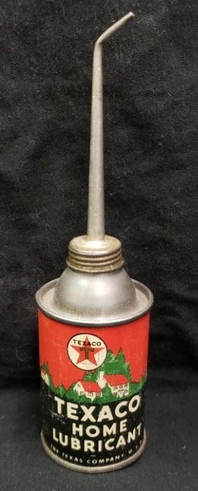 Texaco Lubricant Can