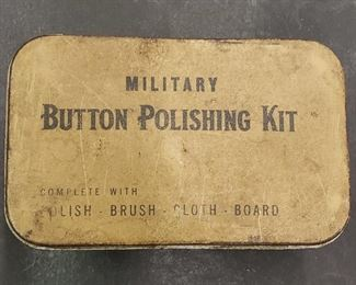 Military Button Polishing Kit