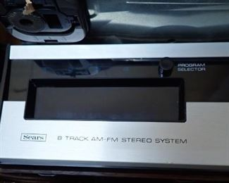 SEARS 8 - TRACK STEREO SYSTEM