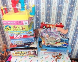 LOTS OF GAMES AND TOYS