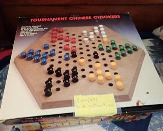 VINTAGE GAMES & TOYS  CHINESE CHECKERS
