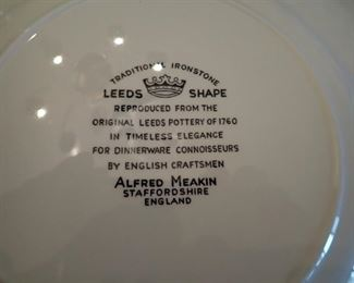 LEEDS SHAPE /ALFRED MEAKIN / DISHES