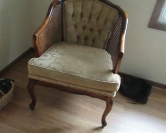 CANE SIDE VINTAGE CHAIR
