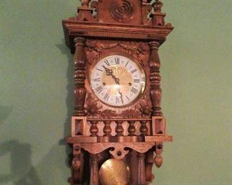 GERMAN MADE KEY WIND CLOCK
