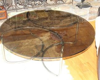 Smoke Glass Coffee table.