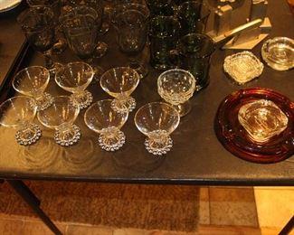 Vintage Glassware.