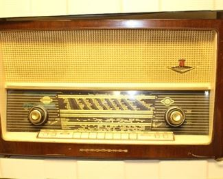 Vintage radio from Germany.