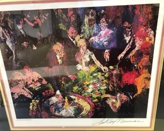 serigraph hand signed by Leroy Neiman