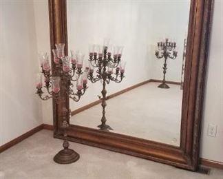 Spectacular Oversize Ornate Mirror