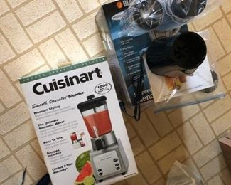 brand new cuisinart and mixer