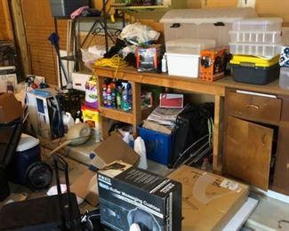 garage filled
