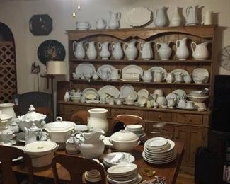 White Vintage Ironstone Collection