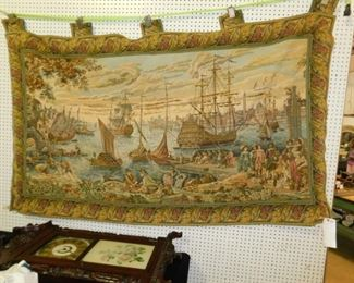 Morgan Silver dollars, storage cabinets, Picasso, Dali, Kitchell, LGB Trains, vintage  tapestry