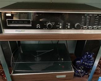 Electrophonic stereo/record player