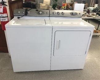 GE Profile HE stainless washer & GE  OVERSIZED DRYER.  VERY NICE SET IN GREAT CONDITION.