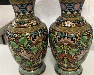 CLOISONNÉ Vases