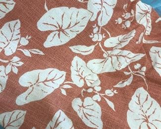 NICE FABRIC BUNCHES  BARKCLOTH