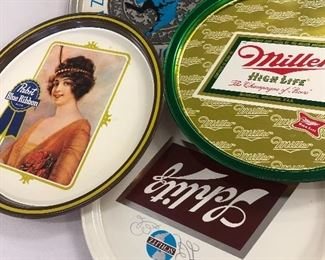 VINTAGE BEER TRAYS