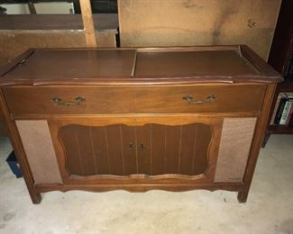 1960s stereo console