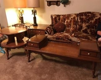1960s  Bassett Coffee and end tables