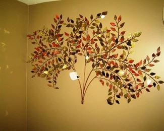 copper wall tree
