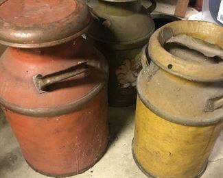 Antique Milk Jugs