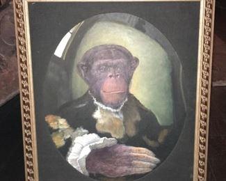 Chimpanzee Portrait #1