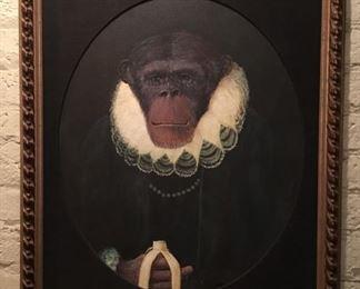 Chimpanzee Portrait #4