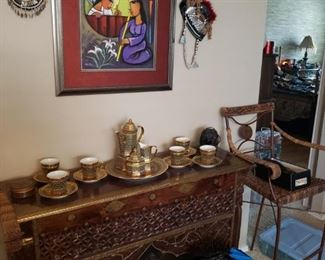 Fine Carved Thai Table