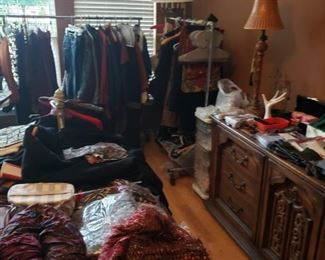 Many Clothes and Purses