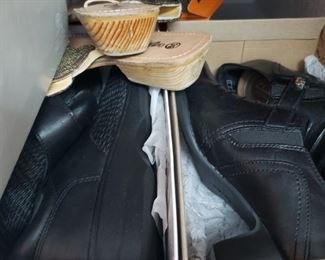 New and Lightly Worn Shoes- Most size 9