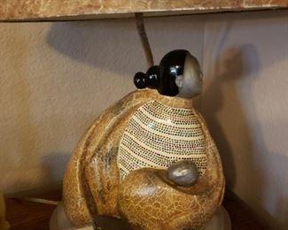 Native American Style Lamp