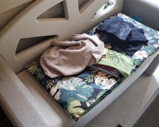 Outdoor Storage Chair