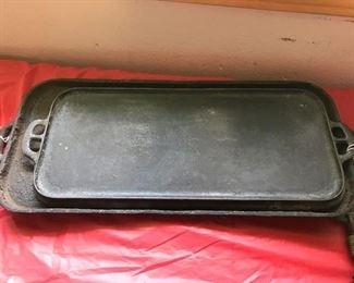 Cast iron griddles