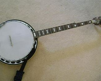 CONRAD BANJO WITH CASE